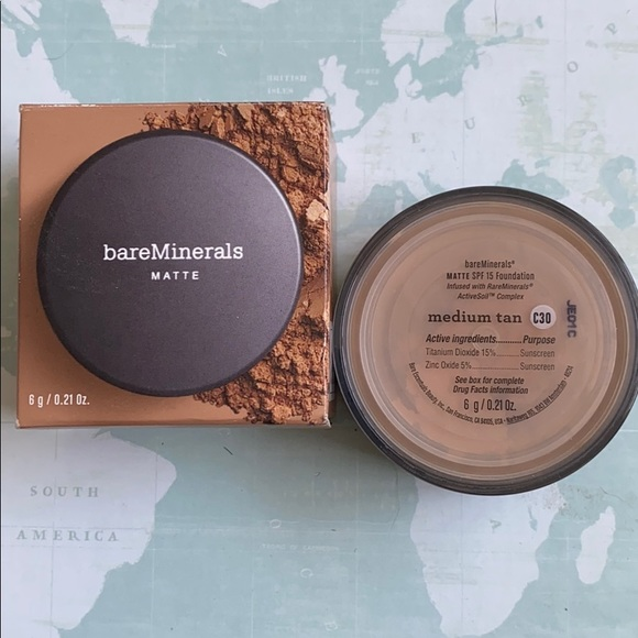 bareMinerals Other - Bare Minerals matte foundation medium tan spf 15